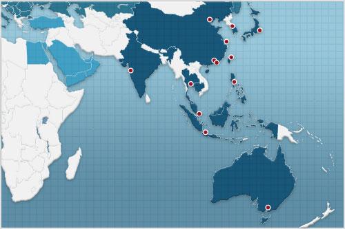 Exportberatung Asien-Pazifik